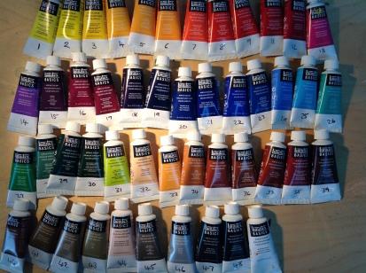 Paint colours CM